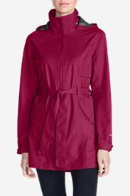 Women's Kona Trench Coat in Purple