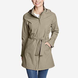 Women's Kona Trench Coat in Beige