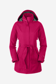 Women's Kona Trench Coat in Pink