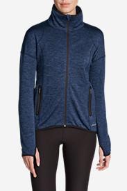 Women's After Burn Jacket in Blue