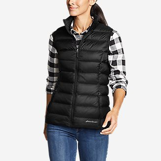 Women's CirrusLite Down Vest in Black