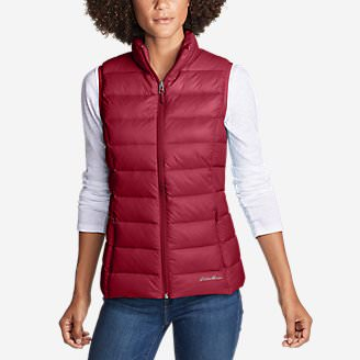 Women's CirrusLite Down Vest in Red