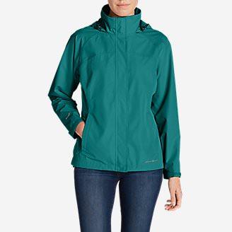 Women's Rainfoil Packable Jacket Tall in Green