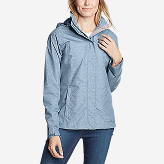 Women's Rainfoil Packable Jacket in Blue