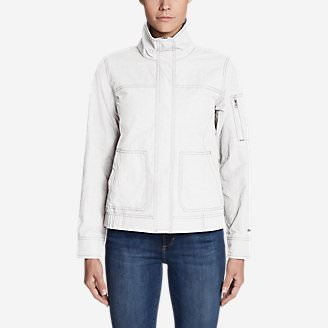 Women's All-Purpose Bomber in White