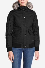Women's Superior 3.0 Down Bomber Jacket in Black