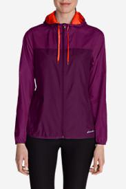 Women's Momentum Light Jacket in Purple