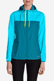 Women's Momentum Light Jacket in Blue