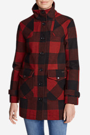 Women's Bulman Creek Forester Parka in Red