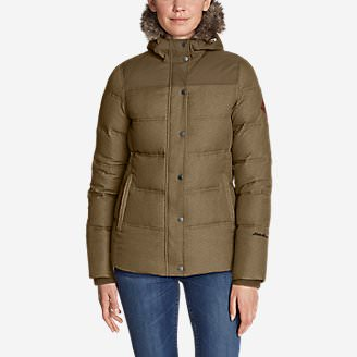 Women's Noble Down Jacket in Brown