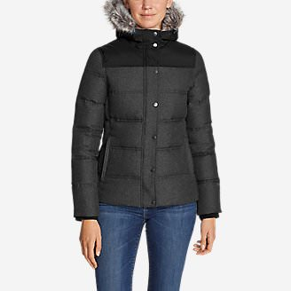Women's Noble Down Jacket in Black