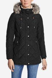 Women's Lanely Down Parka in Black