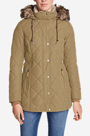 Women's Lanely Down Parka in Beige