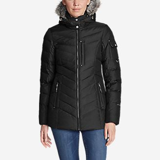 Women's Sun Valley Down Jacket in Black