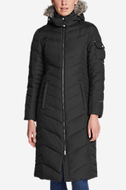 Women's Sun Valley Down Duffle Coat in Black