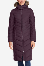 Women's Sun Valley Down Duffle Coat in Purple