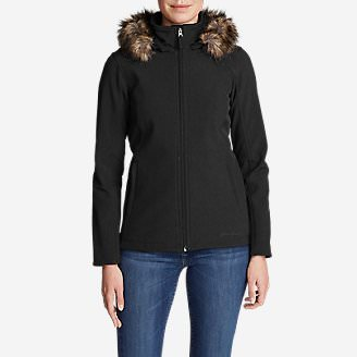 Women's Windfoil® Elite Hooded Jacket in Black