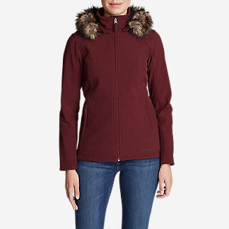 Women's Windfoil Elite Hooded Jacket in Red
