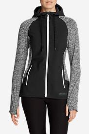Women's After Burn Hybrid Jacket in Black