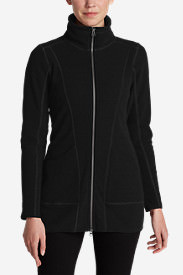 Women's Weekend Fleece Jacket in Black