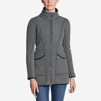 Women's Weekend Fleece Jacket in Gray