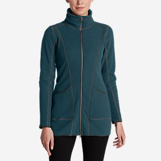 Women's Weekend Fleece Jacket in Green