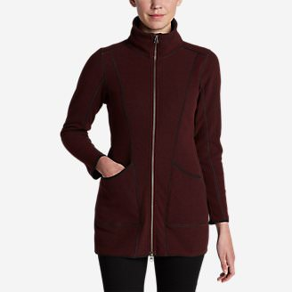 Women's Weekend Fleece Jacket in Red