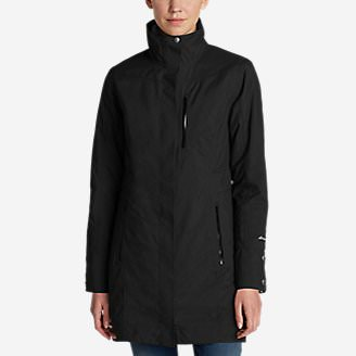 Women's Eastside 3-In-1 Trench Coat in Black
