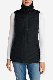 Women's Sun Valley Down Vest in Black