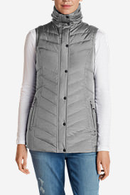 Women's Sun Valley Down Vest in Gray