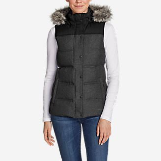 Women's Noble Down Vest in Black