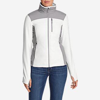 Women's Crux Fleece Jacket in White