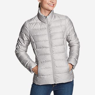 Women's CirrusLite Down Jacket in Gray