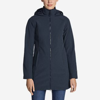 Women's Windfoil Elite 2.0 Hooded Trench Coat in Blue