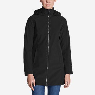 Women's Windfoil Elite 2.0 Hooded Trench Coat in Black