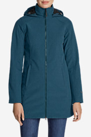 Women's Windfoil Elite 2.0 Hooded Trench Coat in Green