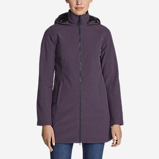 Women's Windfoil Elite 2.0 Hooded Trench Coat in Purple