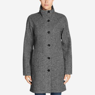Women's Bulman Creek Trench Coat in Gray
