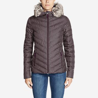 Women's Slate Mountain 2.0 Down Jacket in Red