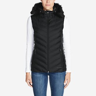 Women's Slate Mountain 2.0 Down Vest in Gray