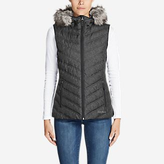 Women's Slate Mountain 2.0 Down Vest in Black