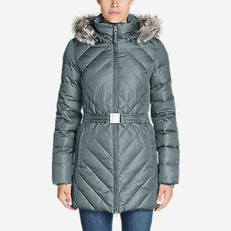 Women's Slope Side 2.0 Down Parka in Gray