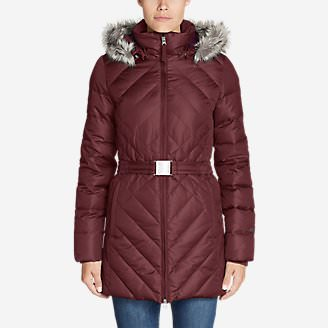 Women's Slope Side 2.0 Down Parka in Red