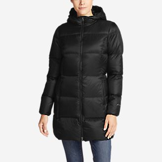 Women's Luna Peak Down Parka in Black
