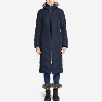 Women's Sun Valley Down Duffle Coat in Blue