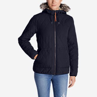 Women's Snowfurry Jacket in Blue