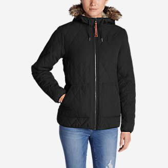 Women's Snowfurry Jacket in Black