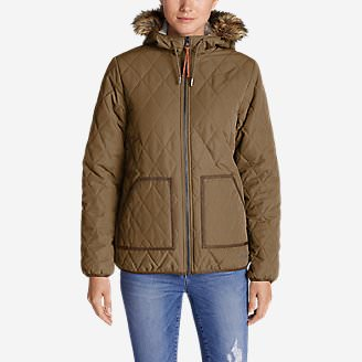 Women's Snowfurry Jacket in Brown