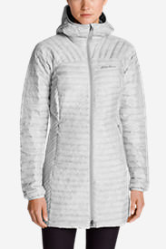 Women's MicroTherm® StormDown® Parka in Gray