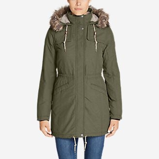 Women's Ladder Creek High-Pile Parka in Green